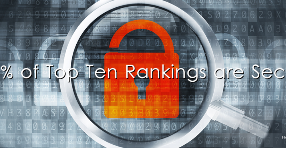 Security a BIG DEAL in Google's Top Ten