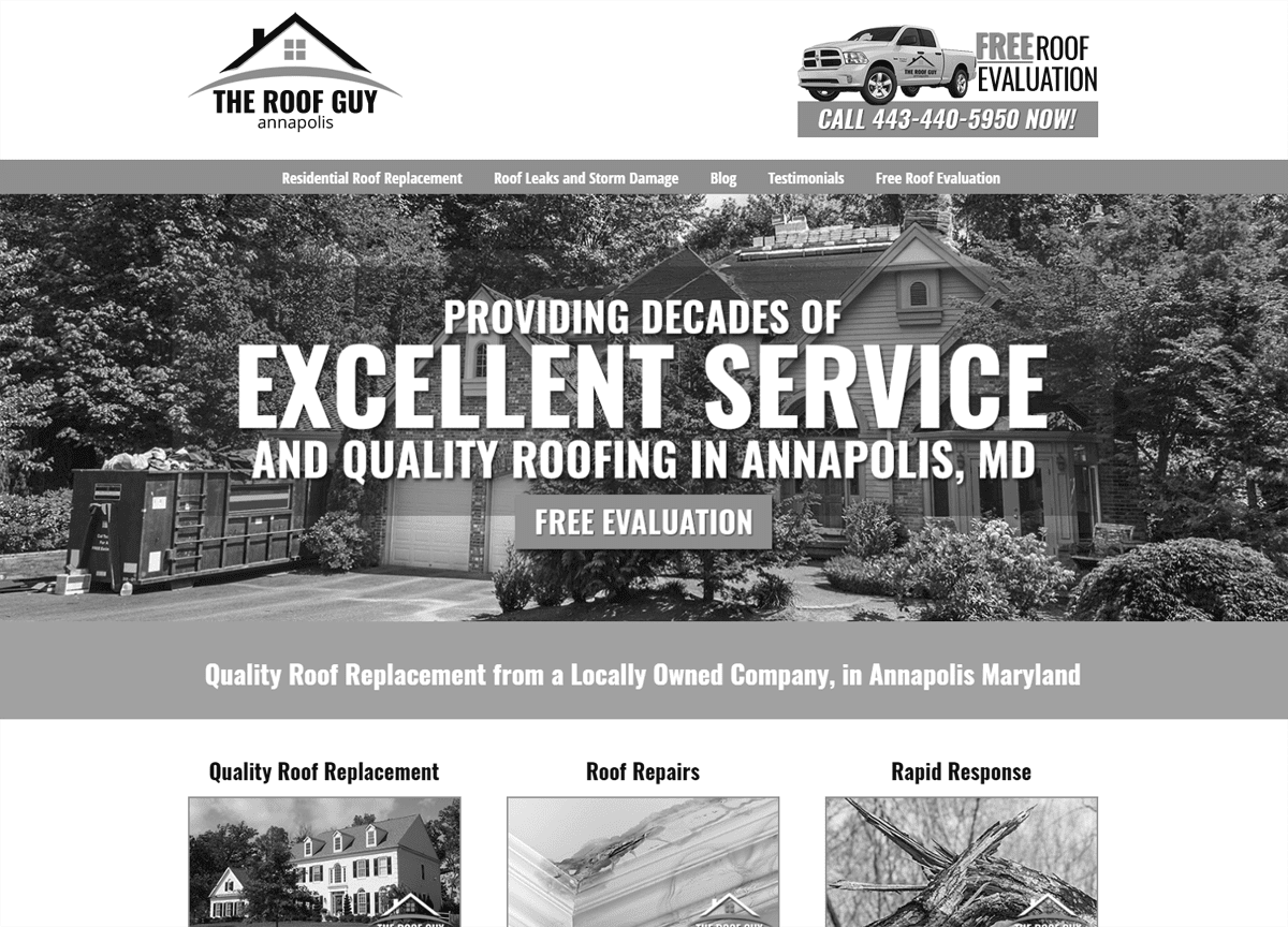 roof guy home page