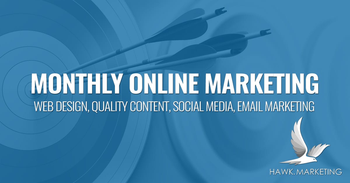 monthly online marketing